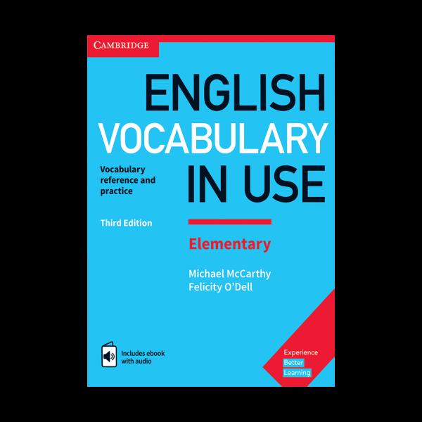 کتاب vocabualary in use elementary
