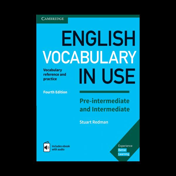 کتاب vocabulary in use pre-intermediate & intermediate